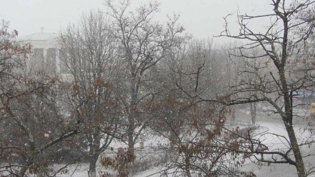 Снегопад, снегопад...