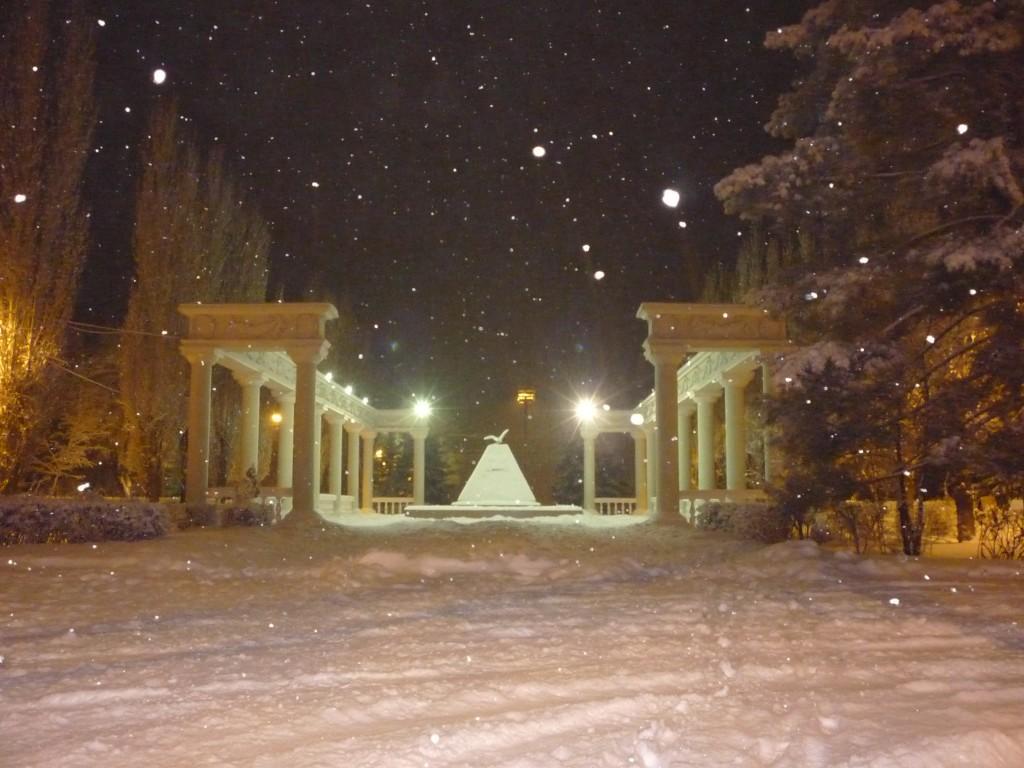 г. Волжский зимой