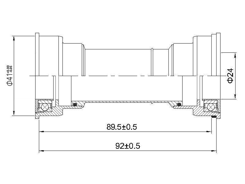 Устройство каретки SM-BB-71-41A