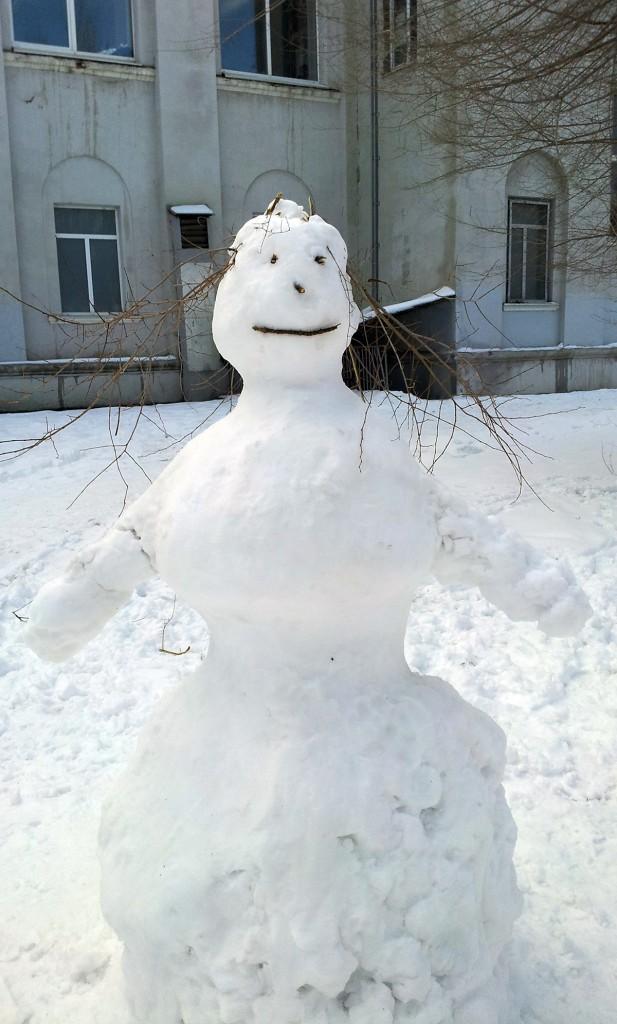 Снеговику жарко