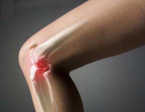 Центр коленного сустава