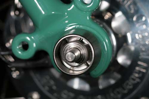 Защита колеса от кражи