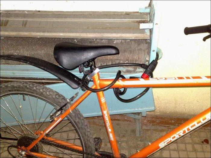 Надежный тросик для велосипеда