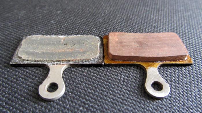 Восстанавливаем колодки для Shimano M675 SLX