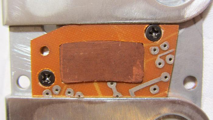 Оправка для самодельных тормозных колодок (для велосипеда)