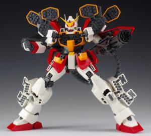 тяжело вооружённый робот гандам