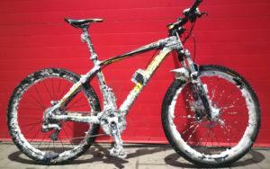 Велосипед-снеговик