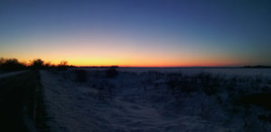 Небо после заката